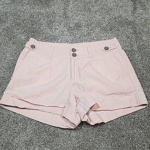 Banana Republic Shorts - 🔥 Banana Republic Blush Pink Pleat Shorts